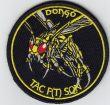 Dongó Tac F(T) Sqn felvarró 9 cm (Sárga hímzés)