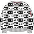 2021 Tavasz/Nyár - Alpha Industries AOP OS Sweater (116302)